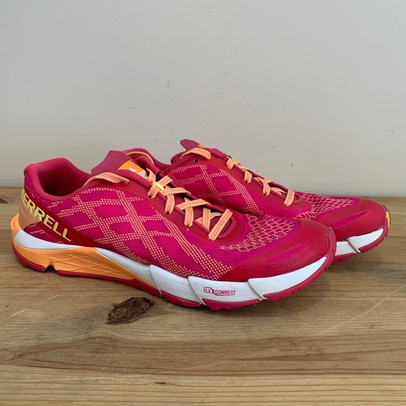 Hot Coral Merrell Performance Footwear Size 8